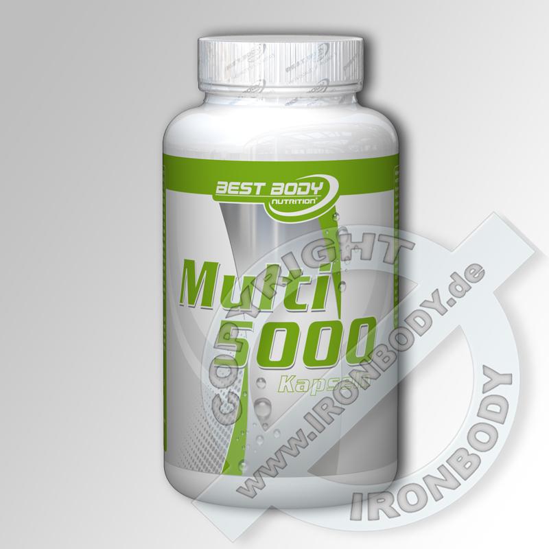 Best Body Multivitamin Kapseln