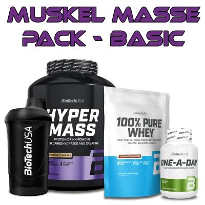 BiotechUSA Muskelaufbau Masse Pack - Basic