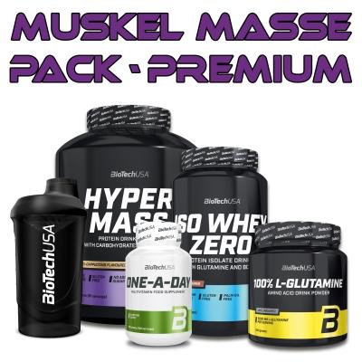 BiotechUSA Muskelaufbau Masse Pack - Premium