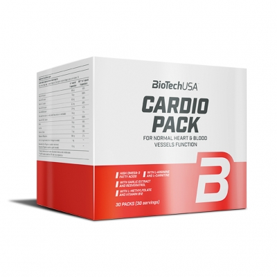 Cardio Pack - 30 Portionen (Biotech USA)