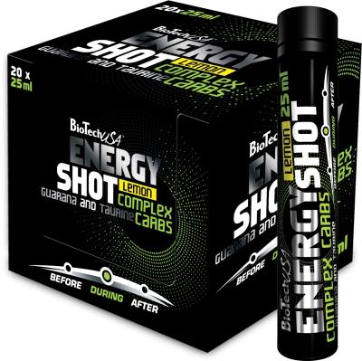 Energy Shot - 20x25ml Trinkampullen (Biotech USA)