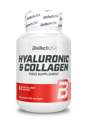 Hyaluronic & Collagen - 100 Kapseln (Biotech USA)