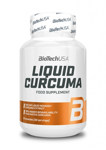 Liquid Curcuma - 30 Kapseln (Biotech USA)