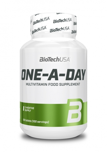 One a Day Multivitamin und Mineralien - 100 Tabletten (Biotech USA)