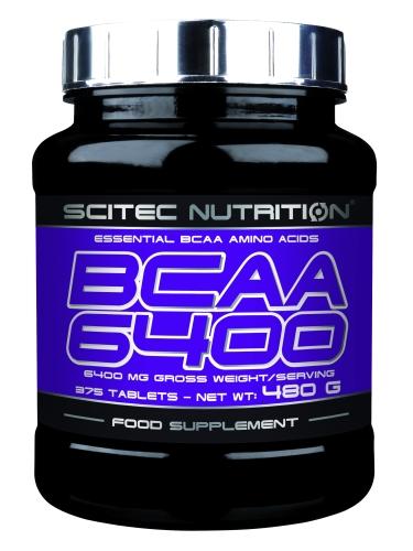BCAA 6400 - 375 Tabletten (Scitec Nutrition)