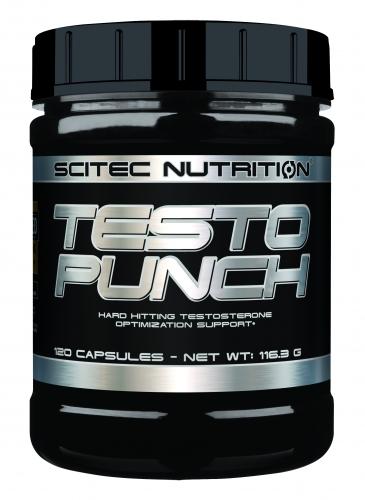 Testo Punch - 120 Kapseln (Scitec Nutrition)