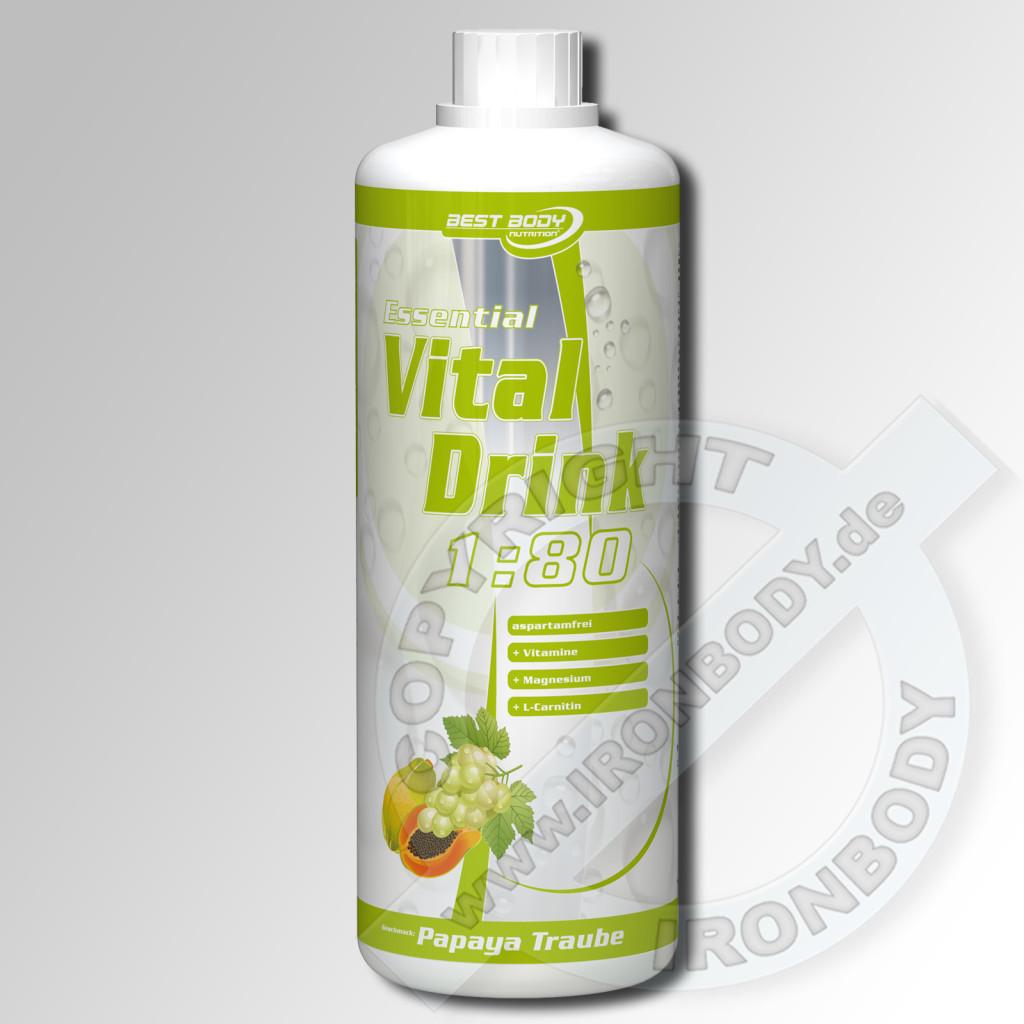 Low Carb Drink - 80 Liter fertiges Getränk für 15,30 EUR