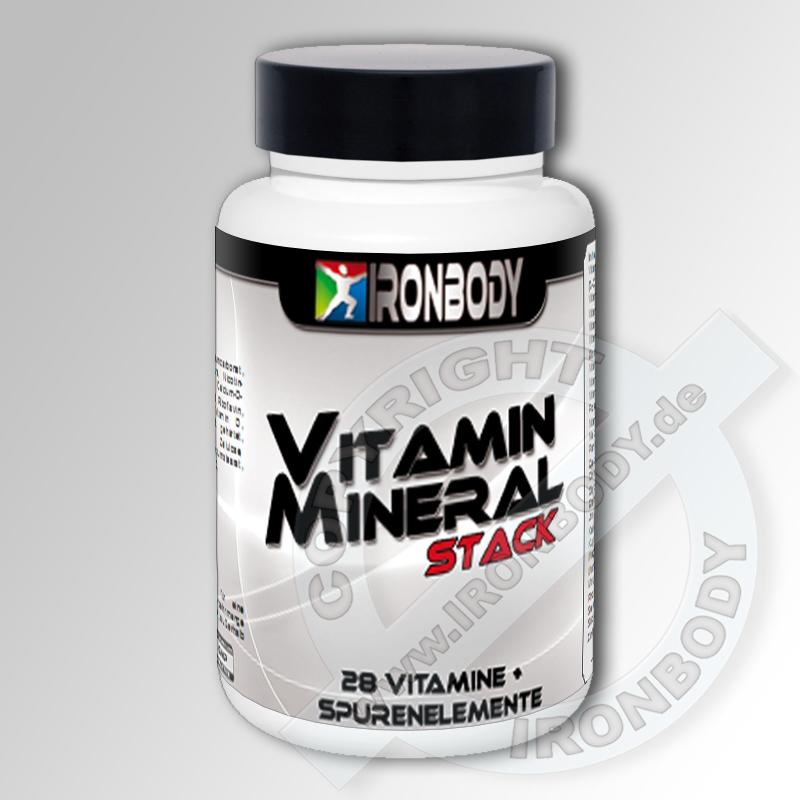 IRONBODY Vitamin und Mineral Stack
