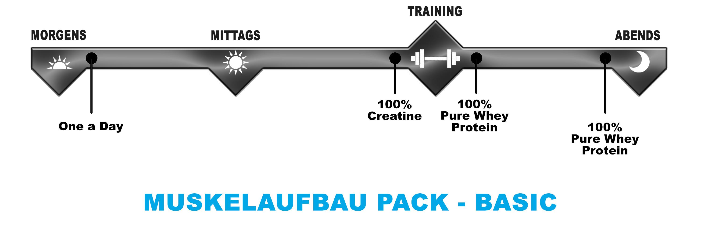 Biotech USA Muskelaufbau Pack Basic