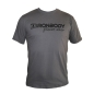 Mobile Preview: Fitness & Bodybuilding T-Shirt dunkelgrau (Ironbody)