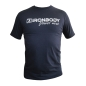 Mobile Preview: Fitness & Bodybuilding T-Shirt navy (Ironbody)