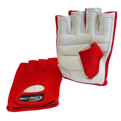 Fitness Gloves 'Power' red  - 1 pair