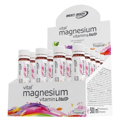 Magnesium Vitamine - 20 ampouls á 25ml (Best Body Nutrition)