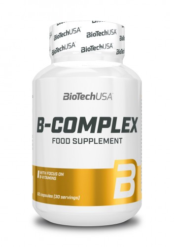 Vitamin B Complex - 60 tablets (Biotech USA)