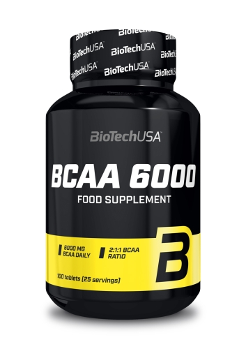 BCAA 6000 - 100 Tabletten (Biotech USA)