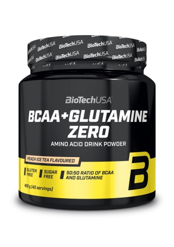BCAA + Glutamine Zero - 480g powder (Biotech USA)