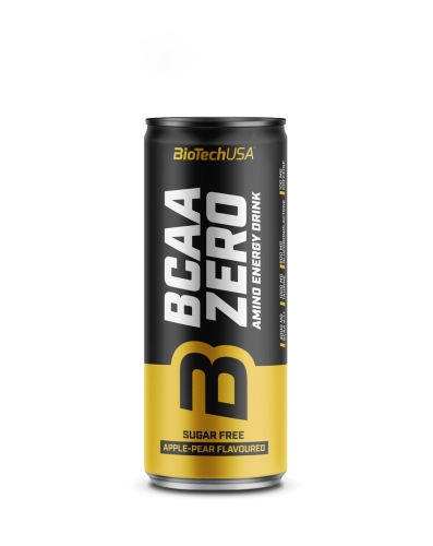 BCAA Zero Energy Drink - 330ml Dose (Biotech USA)
