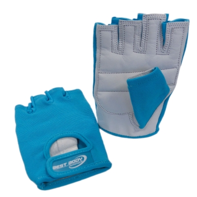 Fitness Gloves 'Power' turquoise - 1 pair