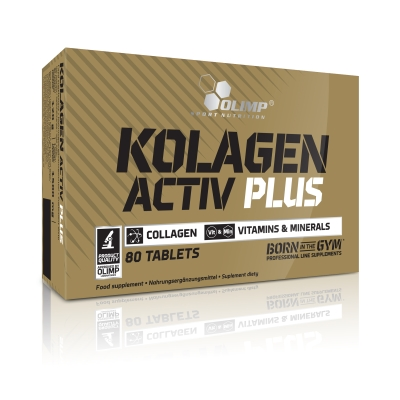 Kolagen Activ Plus - 80 Tabletten (Olimp)
