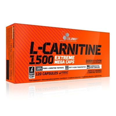L-Carnitine 1500 - 120 Mega Caps (Olimp)