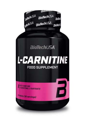 L-Carnitine 1000 - 30 Tabletten (Biotech USA)