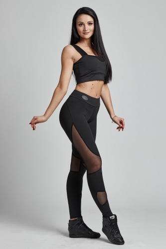 Leggins BRAVE Black (Gym Provocateur)