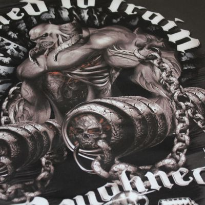 Roughneck T-Shirt 'Chains of Pain' graphite