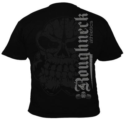 Roughneck T-Shirt 'Monster Shrugs' black