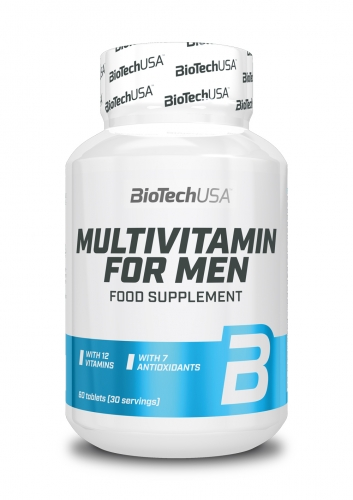 Multivitamin for Men - 60 tablets (Biotech USA)