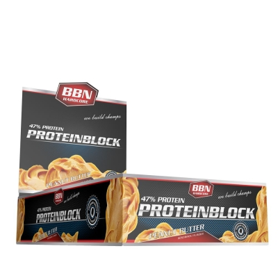 Protein Block - 15 bars of 90g (BBN Hardcore)