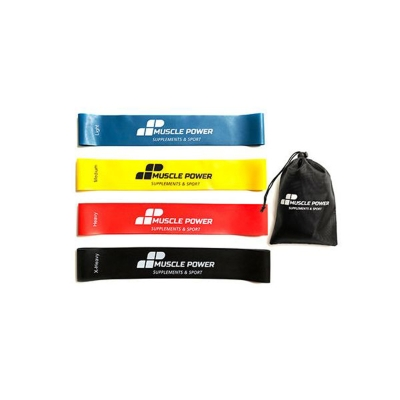 Set of 4 Resistance Loop Bands