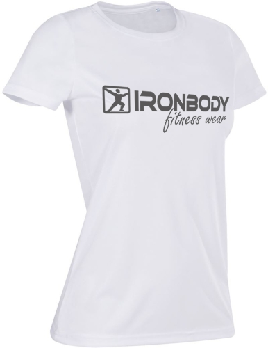 Woman Function & Fitness T-Shirt white / grey (Ironbody)