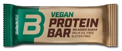 Vegan Protein Bar - 50g Riegel (Biotech USA)