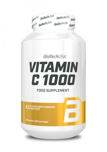 Vitamin C 1000 - 250 Tabletten (Biotech USA)
