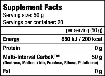 CarboX - 1KG bag (Biotech USA)