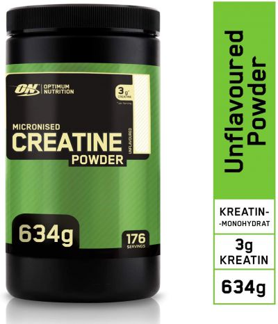 Micronised Creatine Powder - 634g (Optimum Nutrition)
