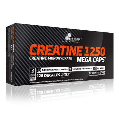 Creatine 1250 - 120 Mega Caps (Olimp)