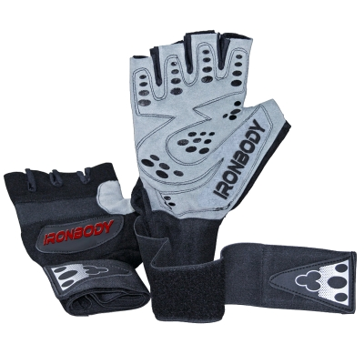 fitness gloves 'professional grip'   - 1 pair