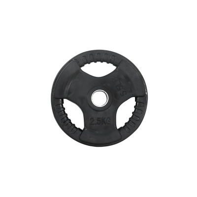 Weight Plate Rubber Gripper 30mm - 1.25kg