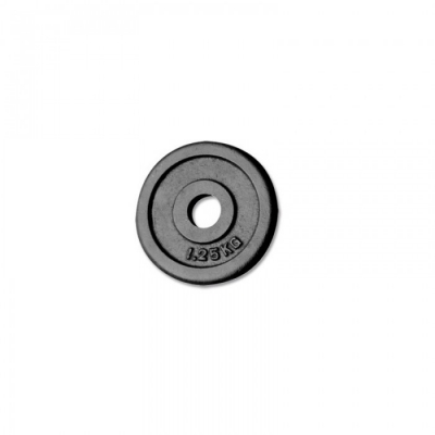 cast iron weight plate 30mm - 1,25kg