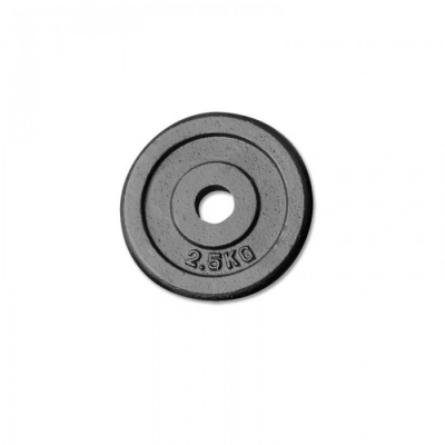cast iron weight plate 30mm - 2,50kg