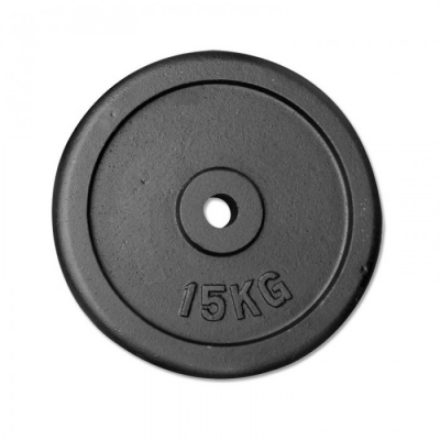 cast iron weight plate 30mm - 15,00kg