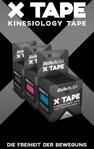 Kinesiology X Tape - 5cm x 5m Rolle (Biotech USA)