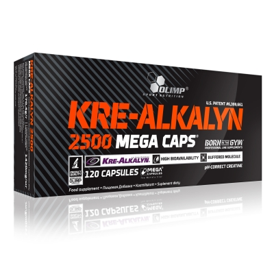 Kre-Alkalyn 2500 - 120 Mega Caps (Olimp)
