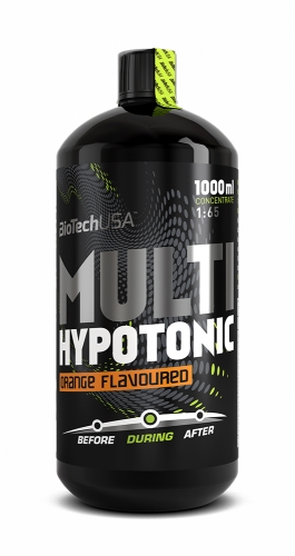 Multi Hypotonic Drink 1:65 - 1L Flasche (Biotech USA)