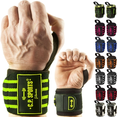 Strongman wrist bandages 50cm - 1 pair (C.P. Sports)
