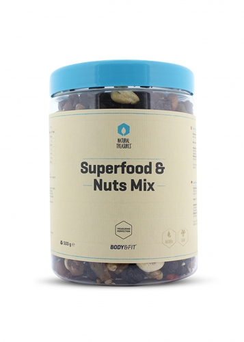 Superfood & Nuts Mix - 500g Beutel (Body & Fit)