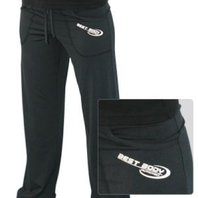 Gym Pant Woman Long Schwarz