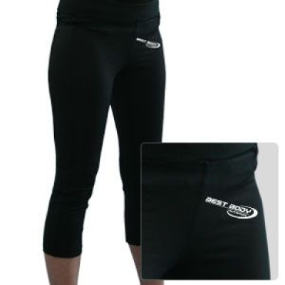 Gym Pant Woman Short schwarz