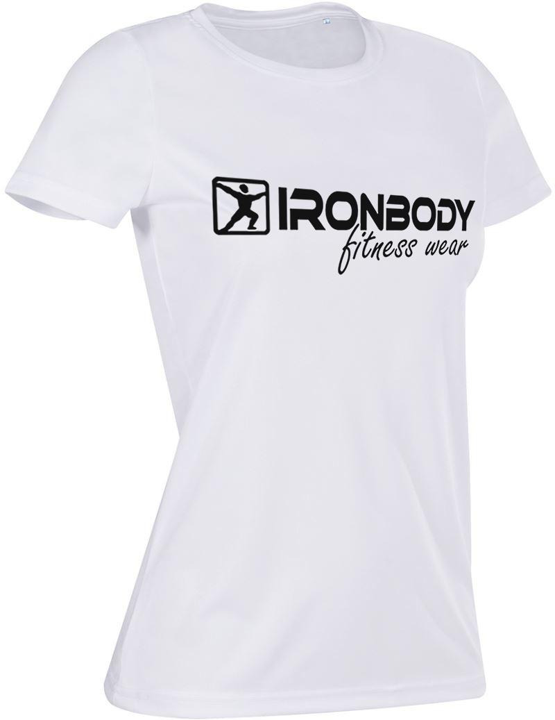 Ironbody Woman T-Shirt schwarz Damen Sport Fitness Shirt